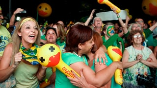 Brasilia: Terrada per Dilma Rousseff