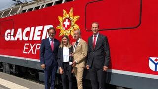 Glacier Express: Inauguraziun da nova locomotiva