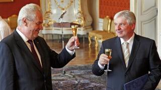 Tschechien: Zeman provoziert mit «linkem» Ministerpräsidenten