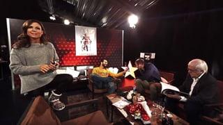 360°-Einblick in den Backstage-Raum der Jury