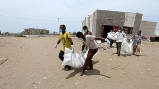 Unerwünscht auf Jemens Schlachtfeldern
