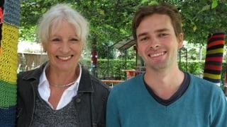 «Alle Generationen haben das Bedürfnis nach Austausch»: Ursula Haller und Elias Rüegsegger im Gespräch