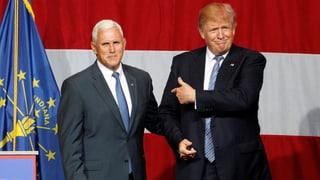 Donald Trump ernennt Pence zum Vize