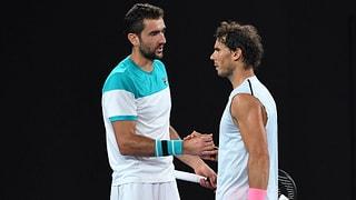 Nadal gibt im 5. Satz gegen Cilic auf