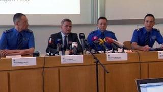 Zum Nachlesen: Medienkonferenz der Polizei