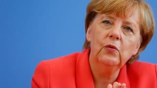 Merkel fordert eindringlich: Mitgefühl statt Hetze