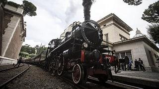 Von Hauptstadt zu Hauptstadt: Ein Kilometer mit dem Zug