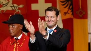 Kronfavorit Ignazio Cassis bekommt weitere Konkurrenz aus der Westschweiz: Die FDP Genf nominierte heute Pierre Maudet.