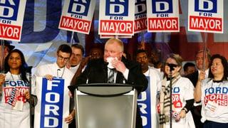 Torontos Skandal-Bürgermeister macht einen Entzug
