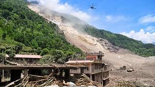 Flutwarnung in Indien nach Erdrutsch in Nepal