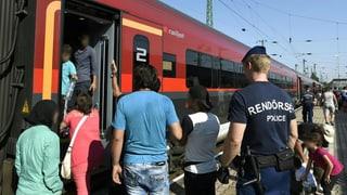 Sa preparar per fugitivs da l'Austria