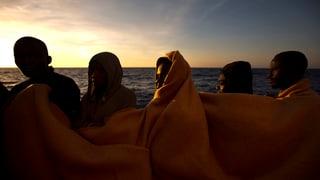 Die EU will die libysche Küstenwache aufrüsten. Sie hofft, so die tausenden Migranten vor einer Überfahrt nach Europa abhalten zu können.