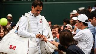 Hatten Sie noch etwas vor am Montagabend, Roger Federer?