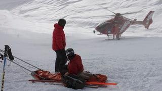 Laax: Accident da skis