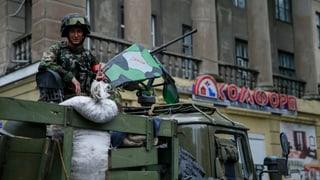Belagerung von Donezk torpediert Bemühungen für Frieden