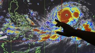 Der Norden der Philippinen rüstet sich für «Mangkhut» – ein Taifun der Kategorie 5