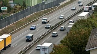 Mehr Fahrzeuge auf den Aargauer Strassen