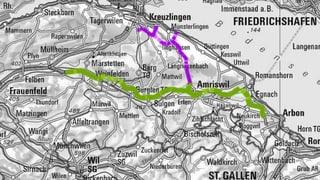 Thurgauer BTS-/OLS-Strassenprojekt wieder unter Druck
