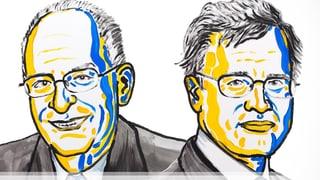 Wirtschaftsnobelpreis für Oliver Hart und Bengt Holmström