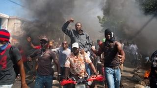 Demonstrationen mit Gewaltausbrüchen in Haiti