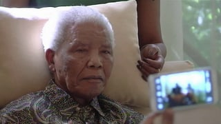 Beten für Mandela