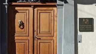 Das Bündner Kantonsgericht sitzt auf einem Pendenzenberg