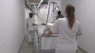 Wenn 200 Zürcher Spitalbetten umziehen müssen
