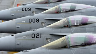 Grounding per tschintg da las F/A 18