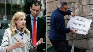 Korruption? Spanische Royals verlieren Strasse auf Mallorca