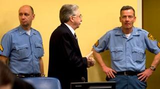 UNO-Richter verurteilen serbische Kriegsverbrecher