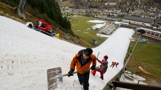 Skisprungschanze in Engelberg soll erneuert werden