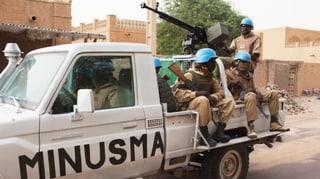 Unbekannte attackieren UNO-Soldaten in Mali