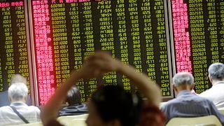 Chinas Börsen stoppen Talfahrt