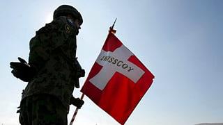 Swisscoy: Schweizer gelten als neutral