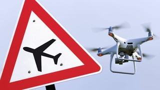 Flugplatz Grenchen: Drohne bringt Flugzeug fast zum Absturz