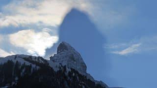 Der Schatten des Matterhorns