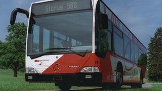 Glarner Buslinien werden noch nicht gestrichen