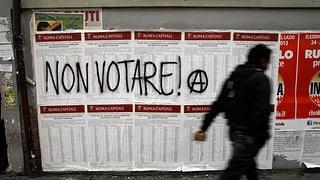 Italiens Parteien zittern vor Komödianten