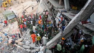 Über 180 Tote bei Hauseinsturz in Bangladesch