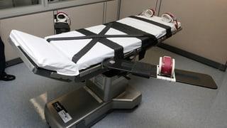 Umstrittenes Mittel für Todesspritze in den USA bleibt erlaubt
