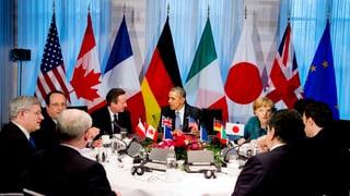 G7 beschliessen neue Sanktionen gegen Moskau