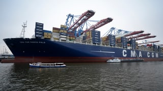 Containerschiffe auf der Kippe