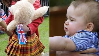 Schotten-Bär für den Prinzen: Grosser Teddy für kleinen George