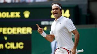 Federer suenter dir cumbat en il mezfinal a Wimbledon