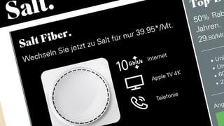Salt Fiber frustriert Kunden: Nichts als leere Versprechen