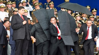 President venezolan mitscha d'attentat