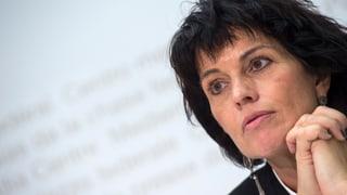 Leuthard kontert Kritik an Strassenfinanzierung