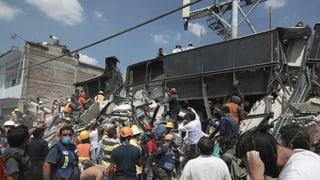Passa 240 unfrendas tar terratrembel en il Mexico