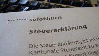 Kanton Solothurn sucht Firmen, die Steuererklärungen einscannen
