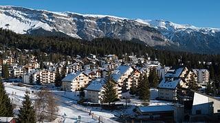 Schweizer Hotels als Basar